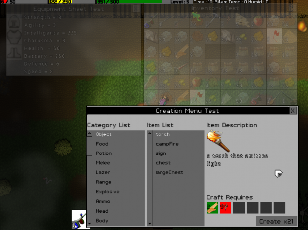 more improvements to GUI