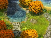 Hidden Lake in Asria
