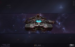 Flak Cruiser Wallpaper