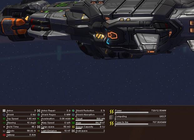 Ship Statistics
