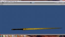 3d model of a Modified Skyrim Sword