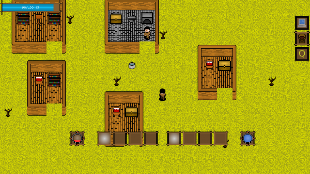 The Old World: Wolves, Bandits, Improved Houses.