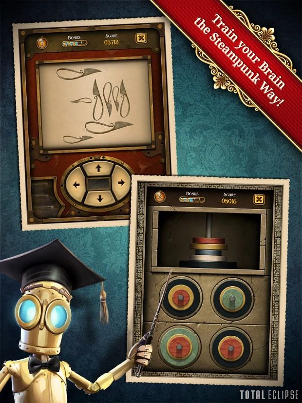 Train your Brain the Steampunk Way!
