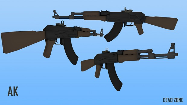 Updated Textures for the AK
