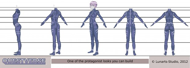 Protagonist reference image