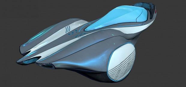Sci Fi Theme Vehicle 2