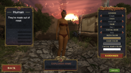 Realm Explorer Female Character Preview