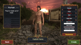 New Character Creation / Customization