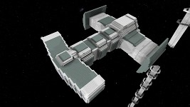 Star Craft Terran Battle Cruiser