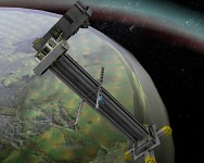 Space Station in Orbit