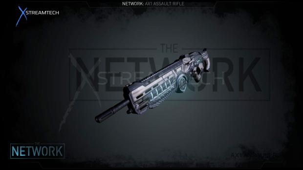 AX1_Assault Rifle WIP
