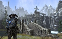Skyrim Mountain