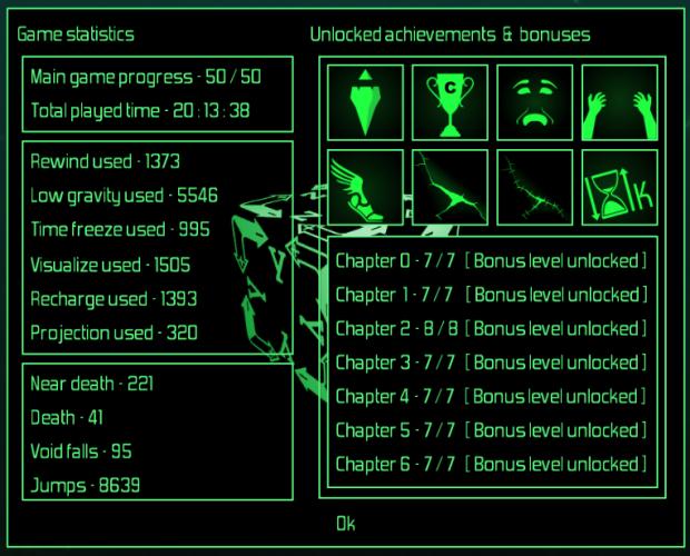 game statistics