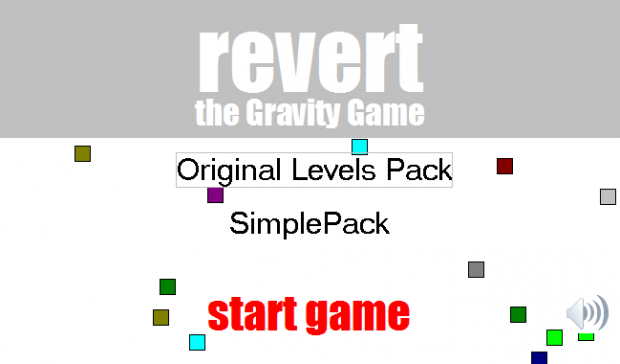 Revert: The Gravity Game