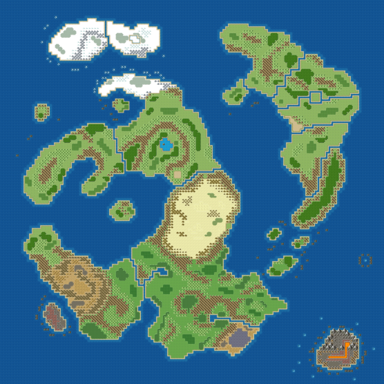 Enthicos' Main Map