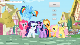 My Little Pony Freindship Is Magic: The Game