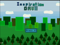 Inspiration Dave Title Screen