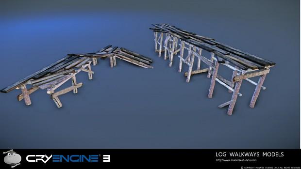 Log Walkways