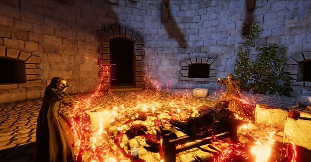 VR Tainted Fate screens