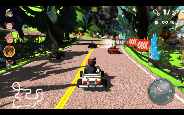 Teddy Floppy Ear - The Race screenshots