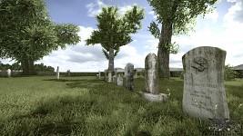 Mumma Graveyard scene WIP 2
