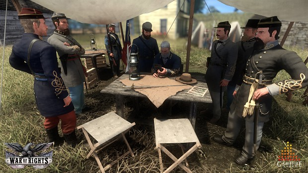 Confederate Staff Meeting
