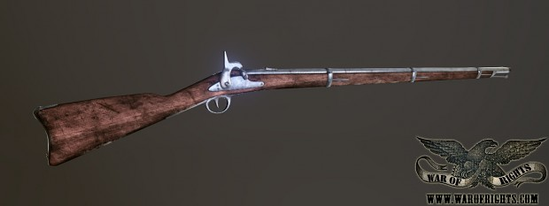 Springfield 1861 Ingame model