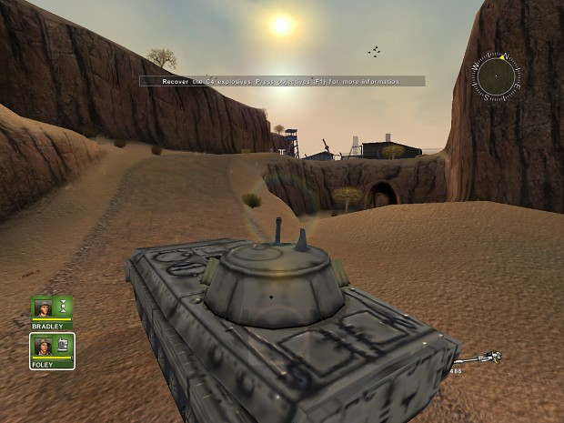 Mission 1 drive BMP-2
