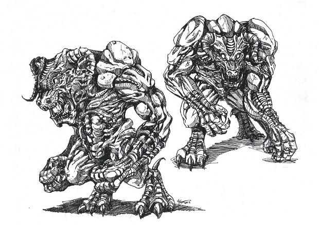 Bulldemon Concept Art
