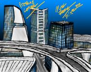 City Concept Art