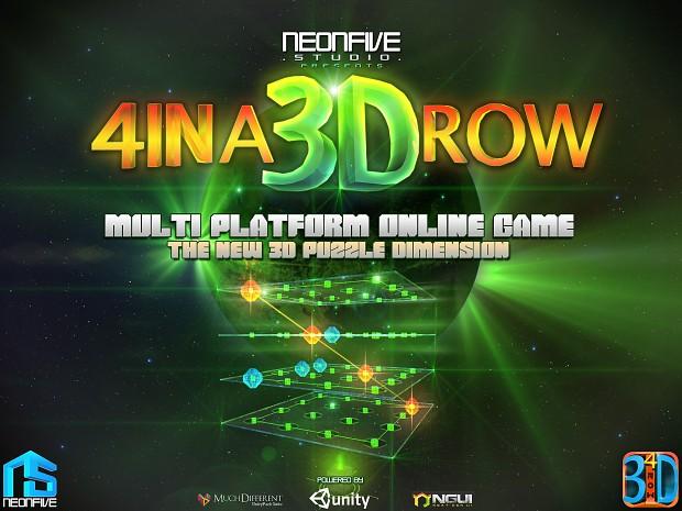 4 IN A 3D ROW - IPAD SCREEN 01