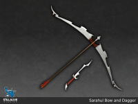 Sarahul Bow and Dagger