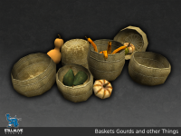 Baskets and Food - SON Asset Preview