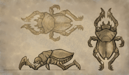 Concept of a Desert Enemy