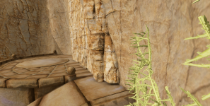 Triplanar Textured Rocks