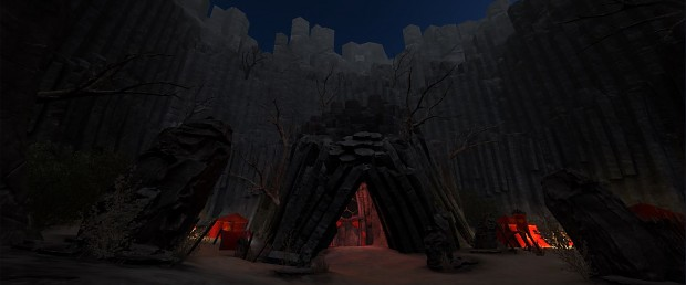 Entrance to the Fire Temple (WIP)