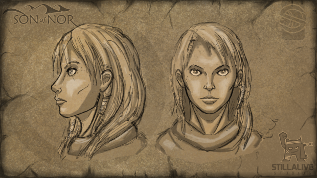 Female Character - Head Concept
