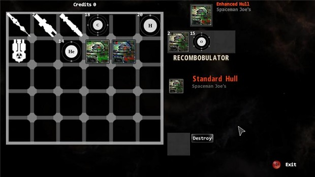 Inventory/Crafting