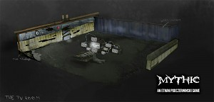 "Concept Art ""The TV Room"""