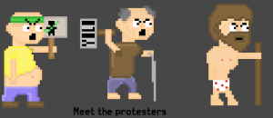 Meet the protesters