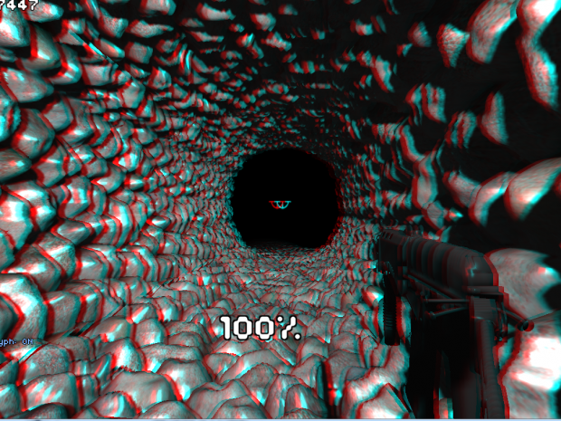 Anaglyph cave