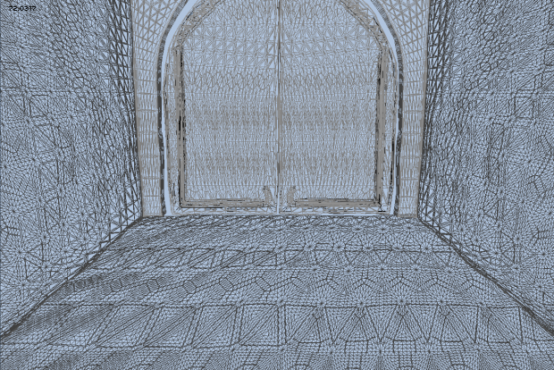Tessellation and screen space LOD