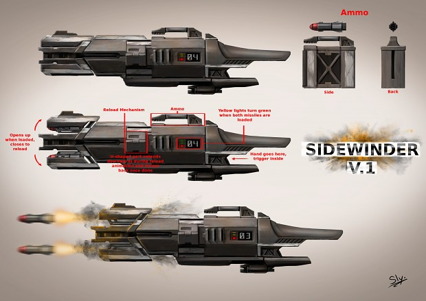 SideWinder Conceptual Art