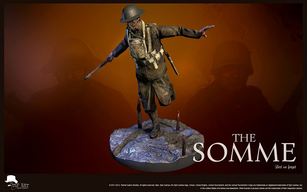 The Somme - British Infantry Soldier