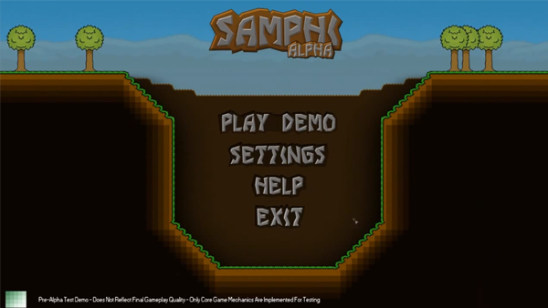Brand New Main Menu Screen