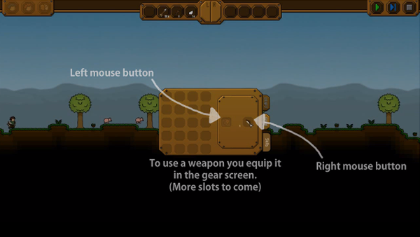 Gear Screen Implementation