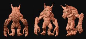 Werewolf Model WIP