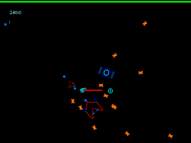 Neon Space Game Modes and Features