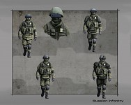 Russian infantry concept art