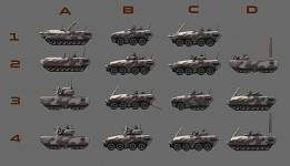 Drone control truck variants